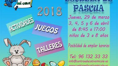 ESCUELA DE PASCUA 2018