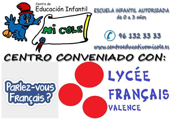 Liceo Francés – Firma de convenio
