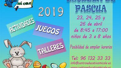 ESCUELA DE PASCUA 2019